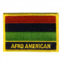 African American Flag Patch, AWFPR001