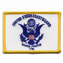 United States Coast Guard Flag Patch,AWPM471