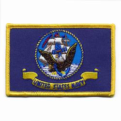 United States Navy Flag Patch,AWPM474
