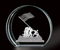 3D Laser Etching of Iwo Jima Monument