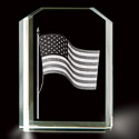 3D Laser Etching of US Flag, BIT98827720