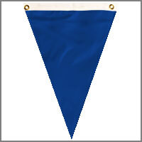 Single Pennants with Blues