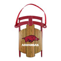 Arkansas Razorbacks Sled Ornament, BOBR350059
