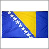 Bosnia & Herzegovina Flags