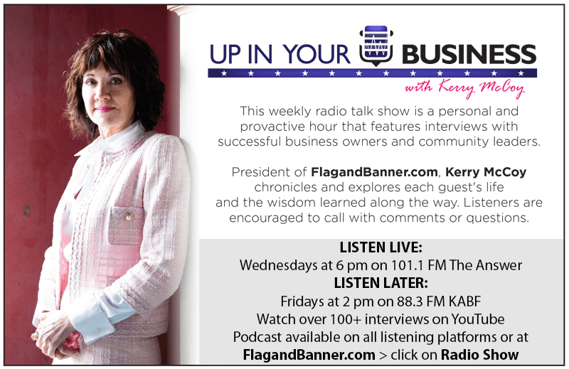 Listen to Up In Your Business with Kerry McCoy
