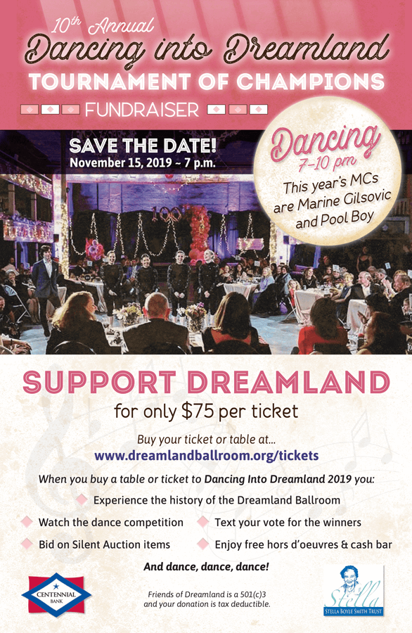 Dancing Into Dreamland 2019 Poster