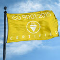 BSI ISO 9001:2015 Certified Flag, BSIISO90011535H