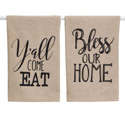 Bless Our Home Towel Set