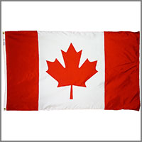 Canada Flags & Canadian Province Flags