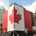 Canadian Patriotic Display