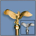 Flying Eagle Ornament with Ferrule
