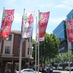 Shopping Banners for downtown district