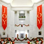 Custom Joy Banners at Arkansas Capitol Building