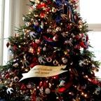 White House Patriotic/Military tree