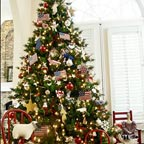 Better Homes and Gardens Patriotic Chirstmas