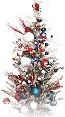 Trim the tree patriotically this year!