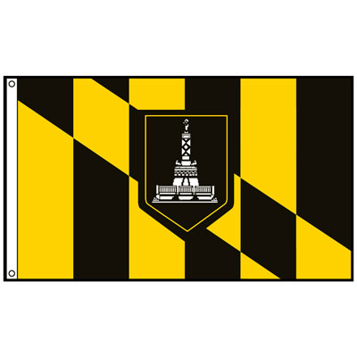 City of Baltimore Flag, CIBALT23