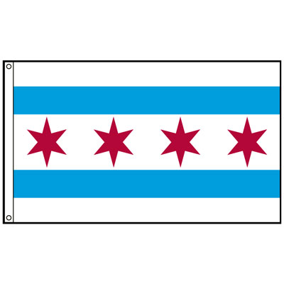 City of Chicago Flag, CICHIC58