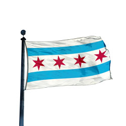 City of Chicago Flag, CICHIC35