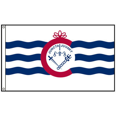 City of Cincinnati Flag, CICINC23