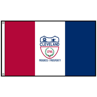 City of Cleveland Flag, CICLEV35