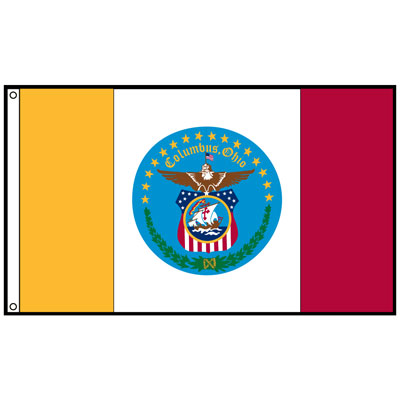 City of Columbus Flag, CICOL610