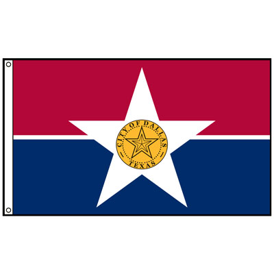 City of Dallas Flag, CIDAL58