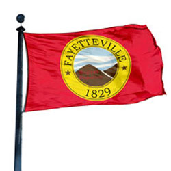 City of Fayetteville Flag, CIFAYT58