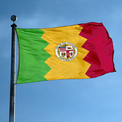 City of Los Angeles Flag, CILA46
