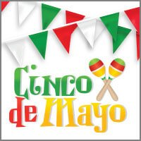 Cinco de Mayo Flags and Decorations