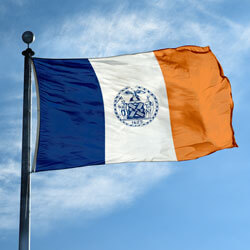 City of New York Flag, CINEWY58