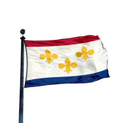 City of New Orleans Flag, CINO610