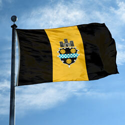 City of Pittsburgh Flag, CIPITT610
