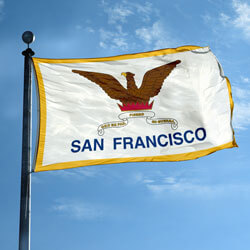 City of San Francisco Flag, FBPP0000009932