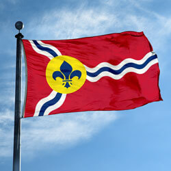 City of St. Louis Flag, CISL58