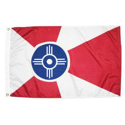 City of Wichita Flag, CIWICH58