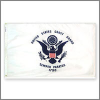 Coast Guard Outdoor Flags & Kits