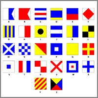 international code signal flags pennants