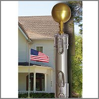 Flag Poles - Residential, Commercial, Kits | FlagandBanner