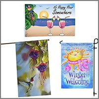 Home & Garden Banners or Garden Flags