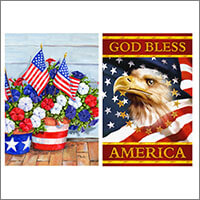 USA Independence Day Flags Gifts and Decorations