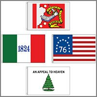 Historical Flags - Outdoor