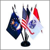 Military & Service Flags - Miniature