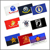 Military & Service Flags - Outdoor