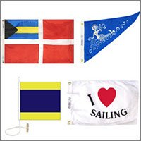 Nautical Flags, Banners, Pennants, and Decorations