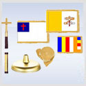 Religious Flags & Kits for Indoor-Parade