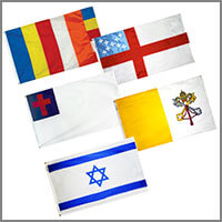 Religious Flags - Outdoor