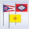 State & Territory Flags - Miniature
