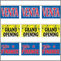 Commercial String Pennants