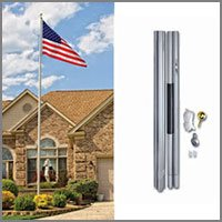 In-Ground Commercial Flag Poles